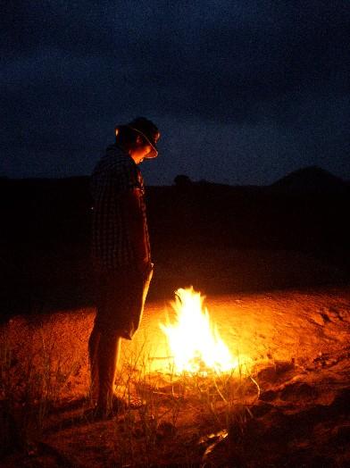 野蛮人和篝火