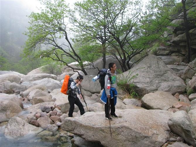 青岛崂山徒步穿越