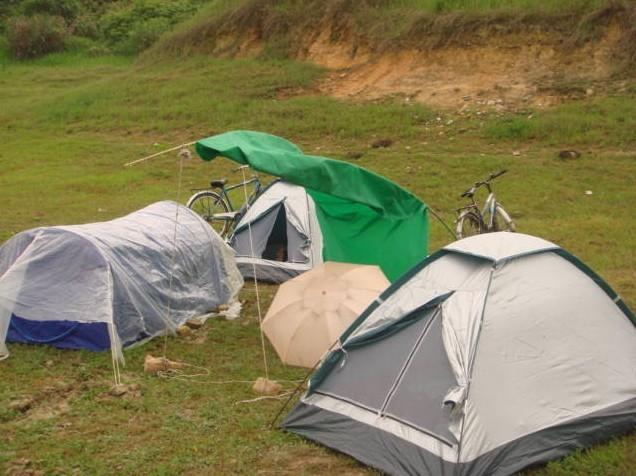 默涂做的帐篷