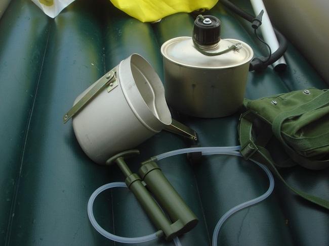 78式军用水壶和净水器