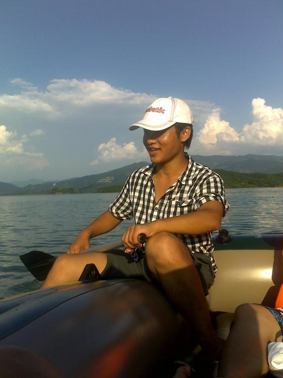 野人部落翠屏湖划船的那些事