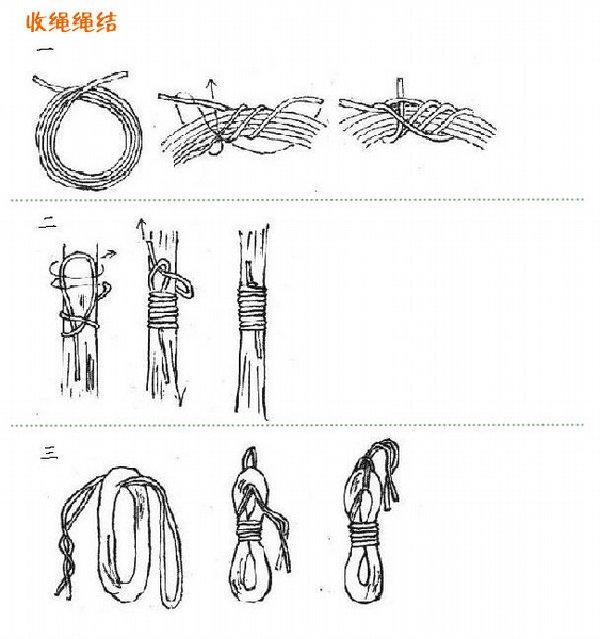 绳结打法教程
