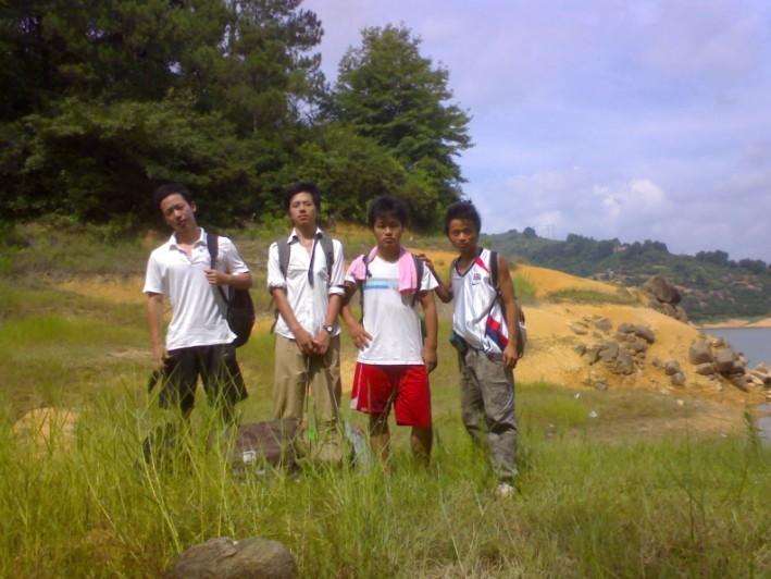 野人部落 翠屏湖露营 2009