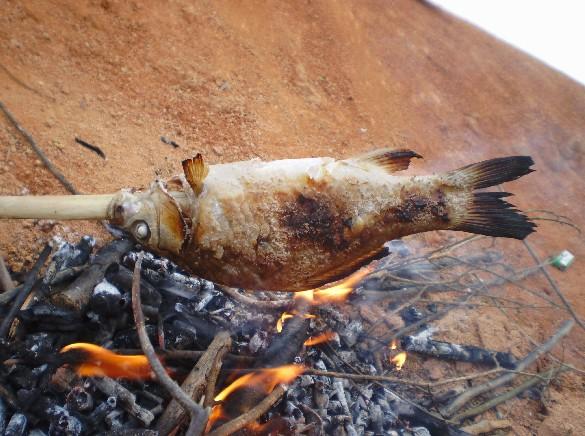 盐烧鱼制作