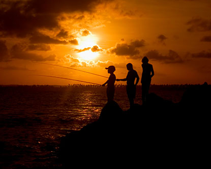野外求生几种捕鱼技能