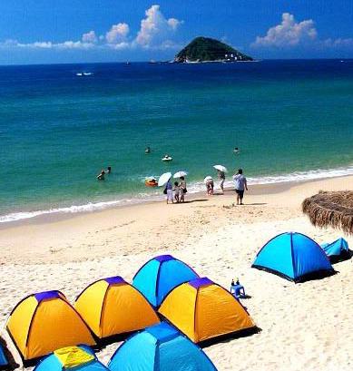 沙滩露营攻略