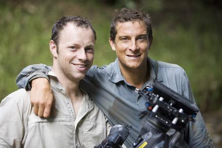 荒野求生 贝尔和摄像师西蒙