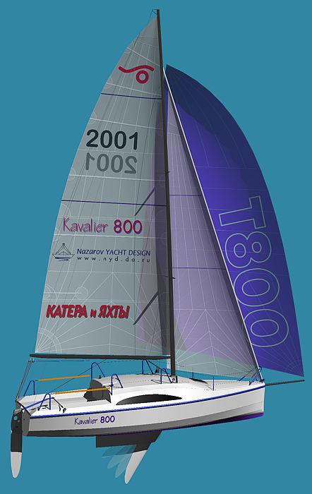 KAVALIER 800 帆船设计图纸分享