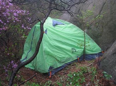 关于野外露营选址的思考