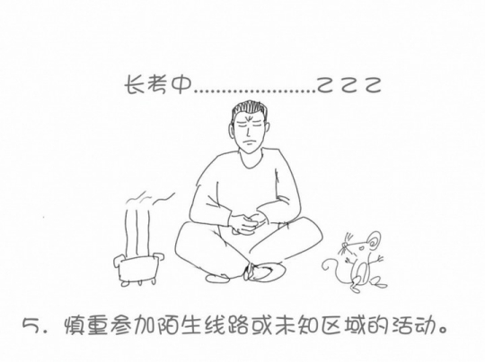 看漫画学户外(上)