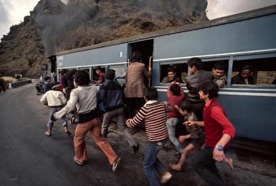 开挂的印度火车