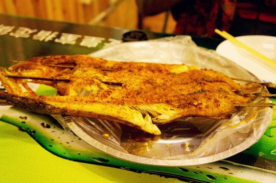 布尔津烤鱼