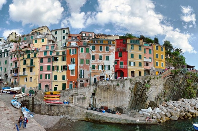 意大利 五渔村