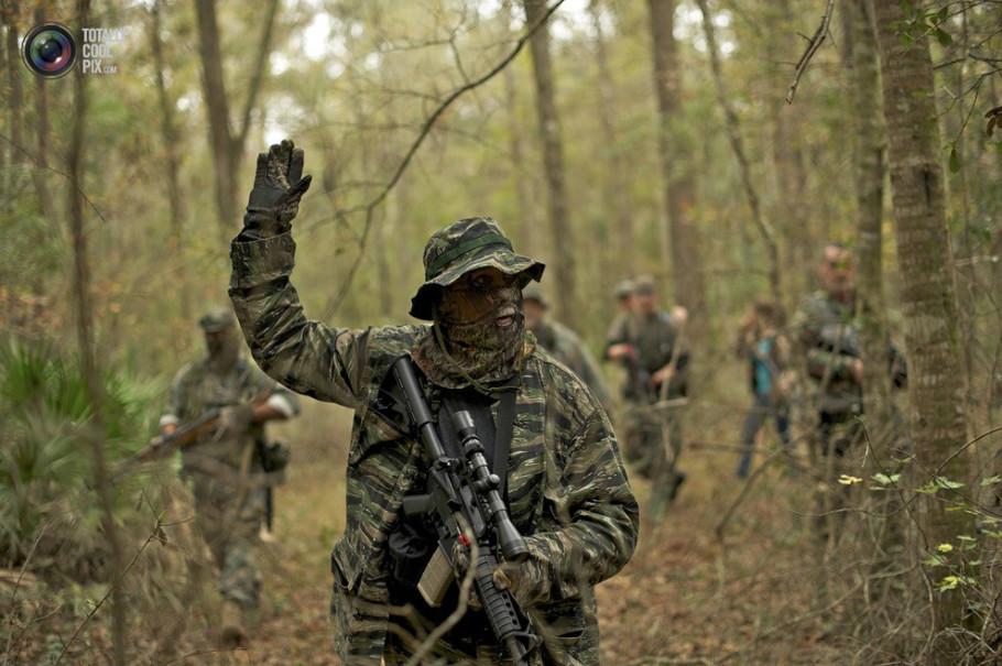 真枪实弹:美国儿童荒野生存训练实录