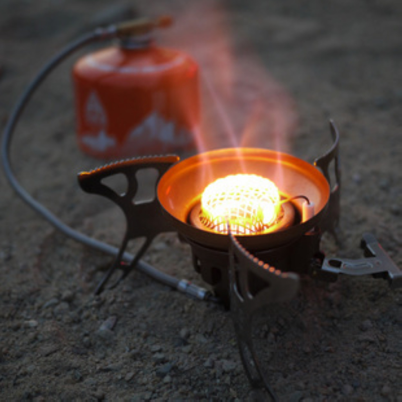 户外炉头漏气解决方法