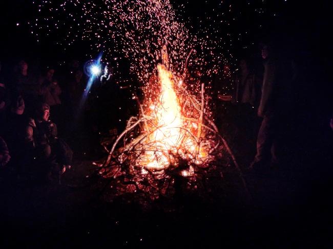 野外生火技巧