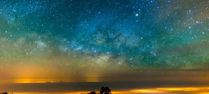 教你如何拍摄美丽星空