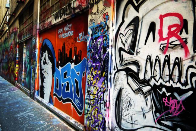 """这座澳洲最""""街头""""的涂鸦城市"""