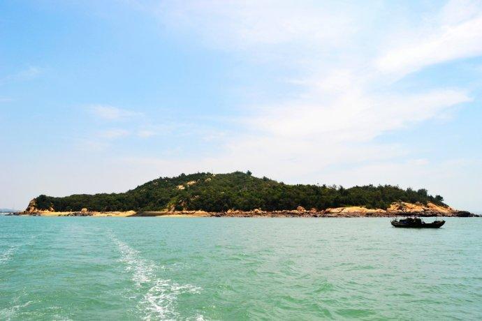 大竹岛全景