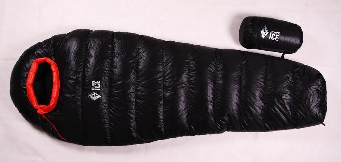 黑冰羽绒睡袋