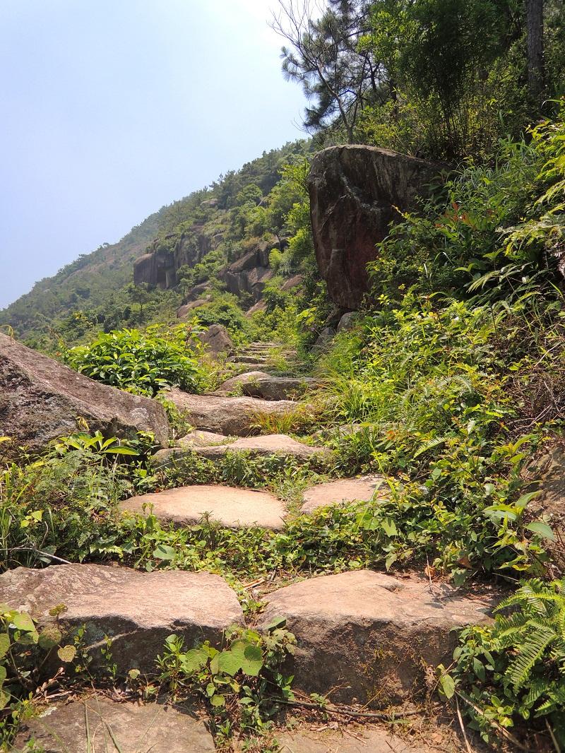 磨溪登山小路