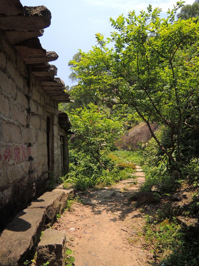 磨溪 石板屋