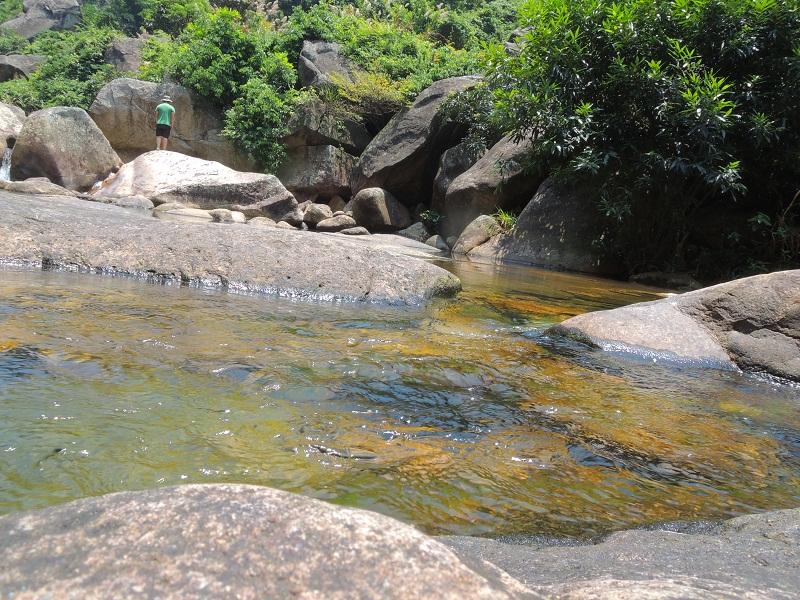 清澈的磨溪