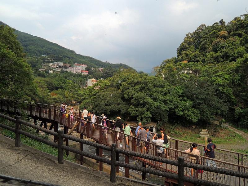 台湾桃园小乌来景区