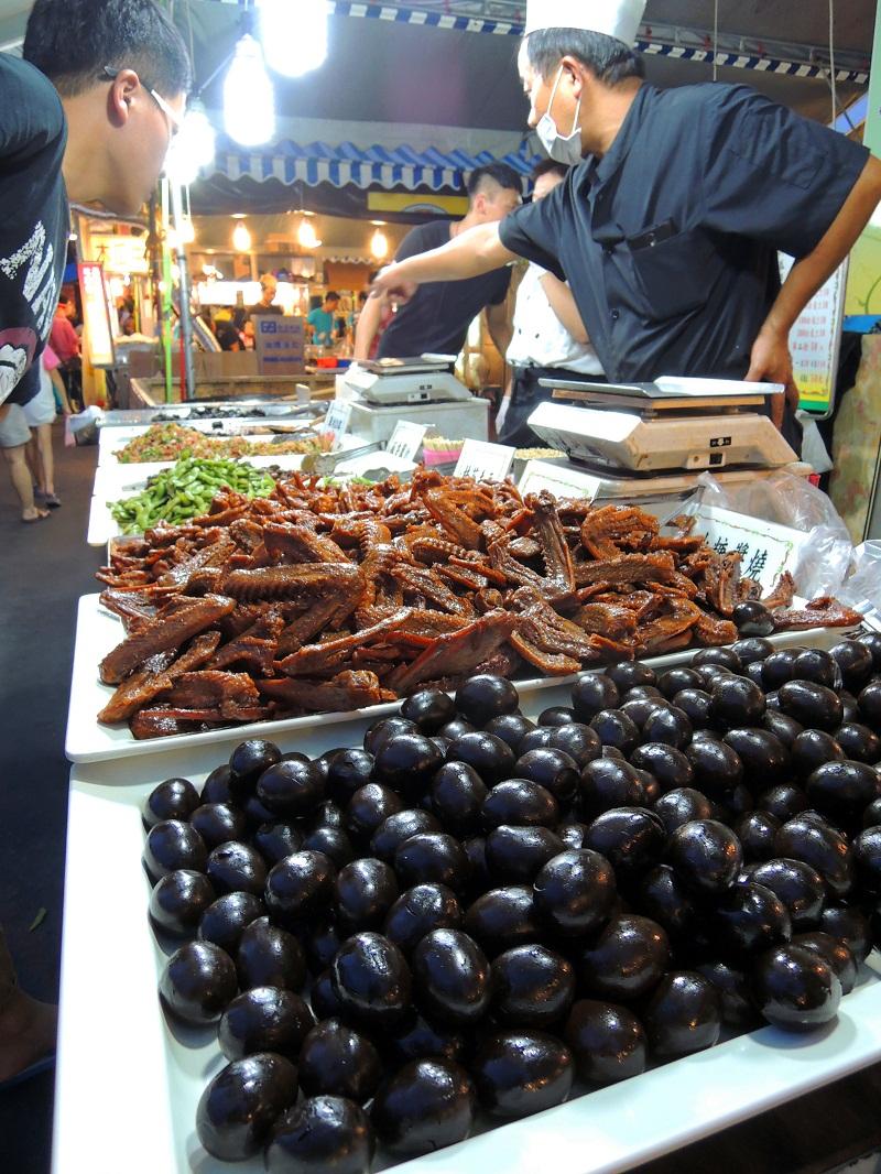 台湾夜市 各种卤味