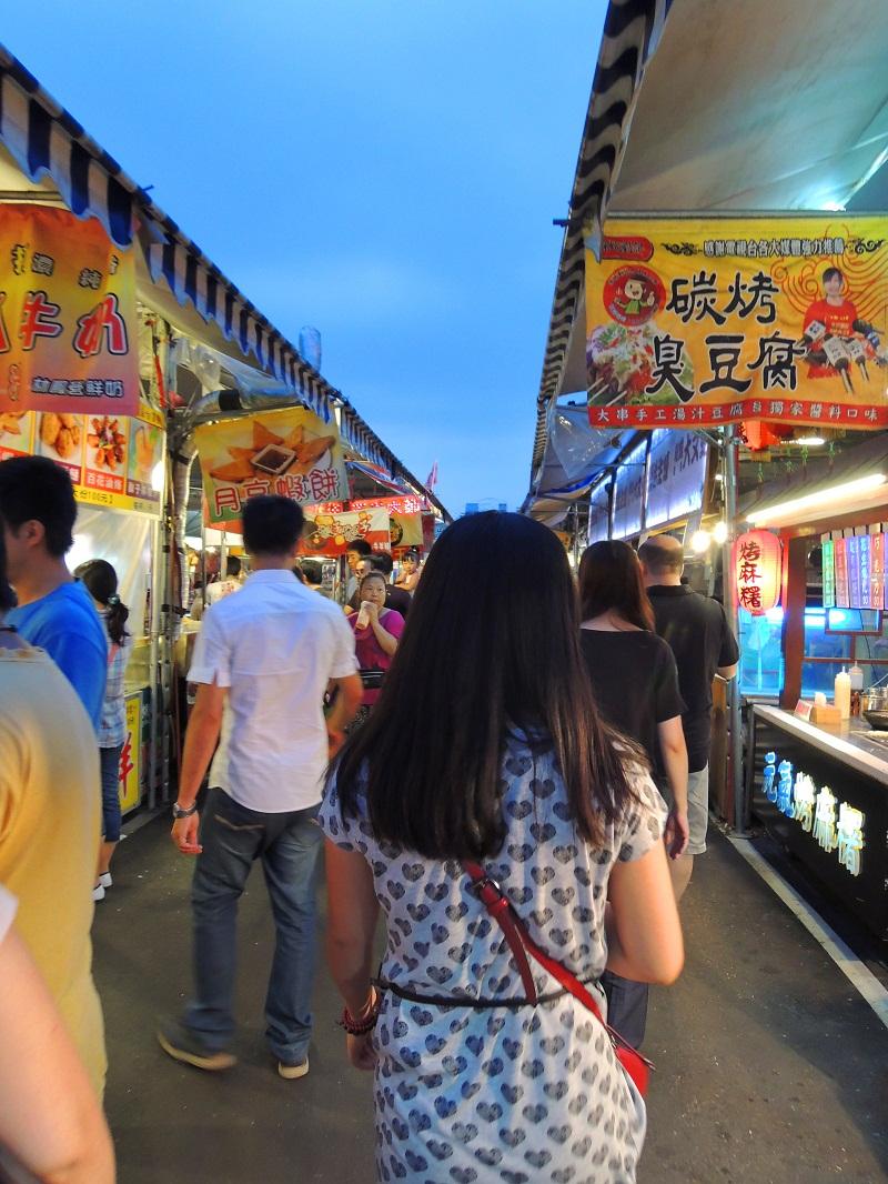 台湾八德兴仁花园夜市