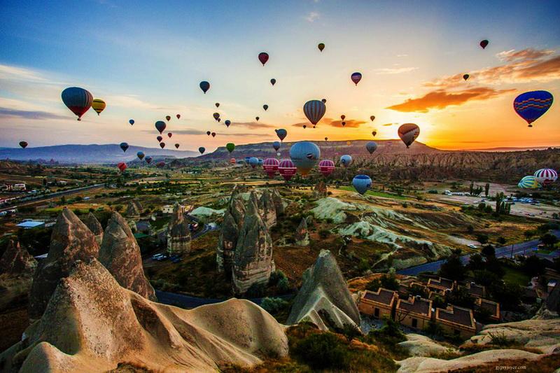 体验土耳其卡帕多西亚热气球之旅