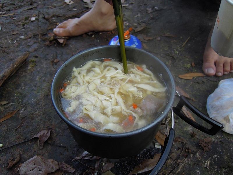 大化山煮羊肉面