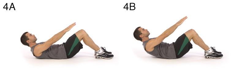 Training 4:捲腹 Abdominal crunch