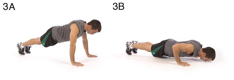 Training 3:伏地挺身 Push-up