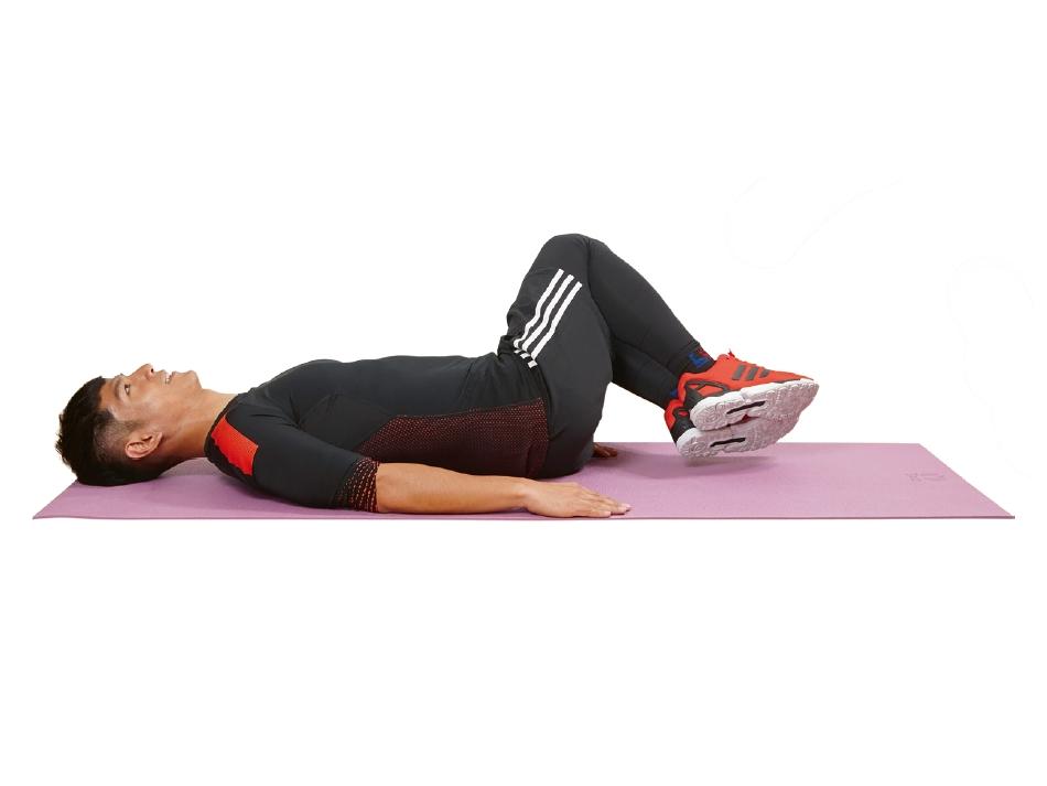 三分钟强化腹背肌群,轻松告别电脑腰、酸痛背!
