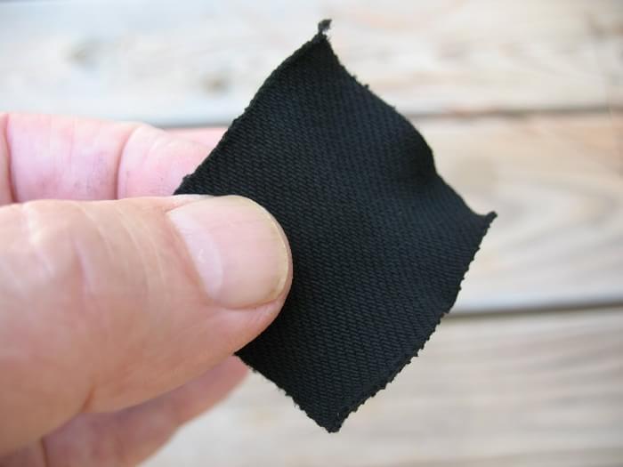 野外求生棉布自制碳布