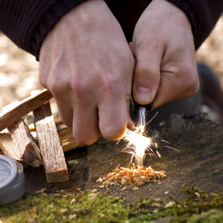 5种野外求生取火的方法