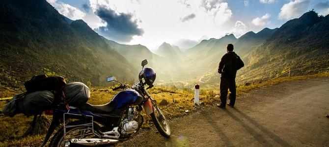 摩托车旅行,一个男人必须经历的梦想