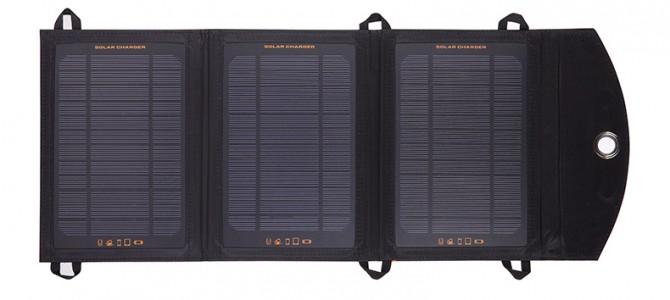户外必备:太阳能移动设备充电器