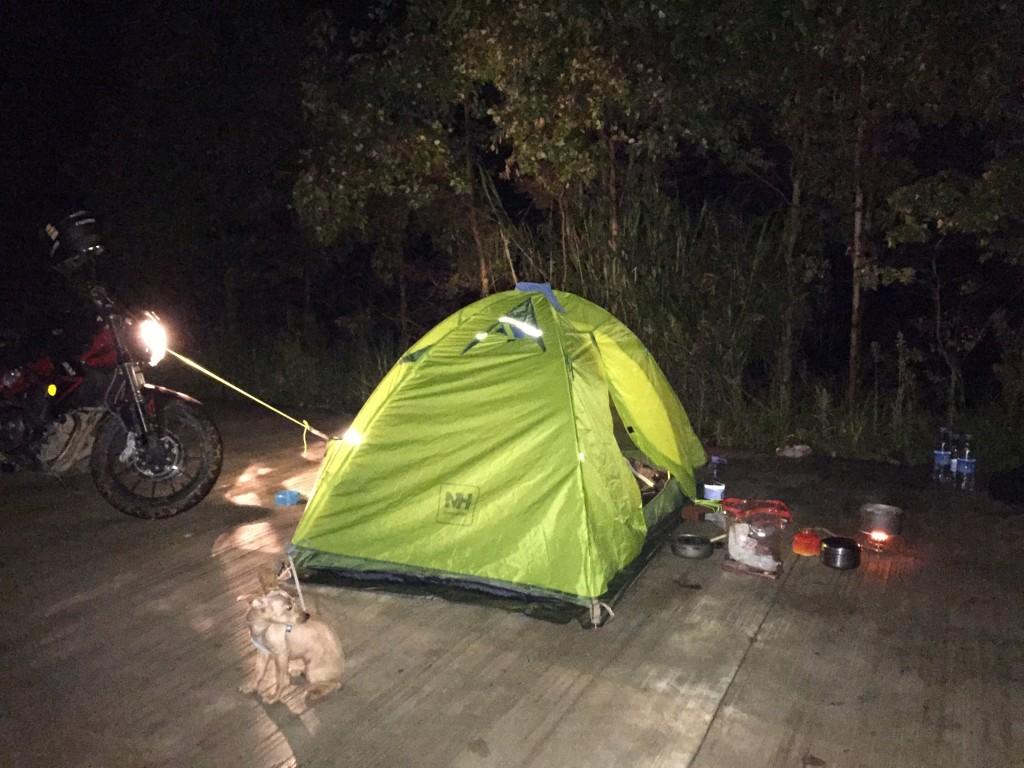 翠屏湖百果园露营