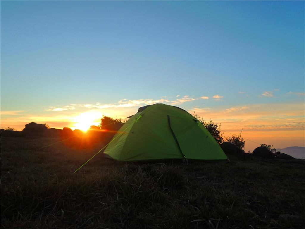 牛石山露营