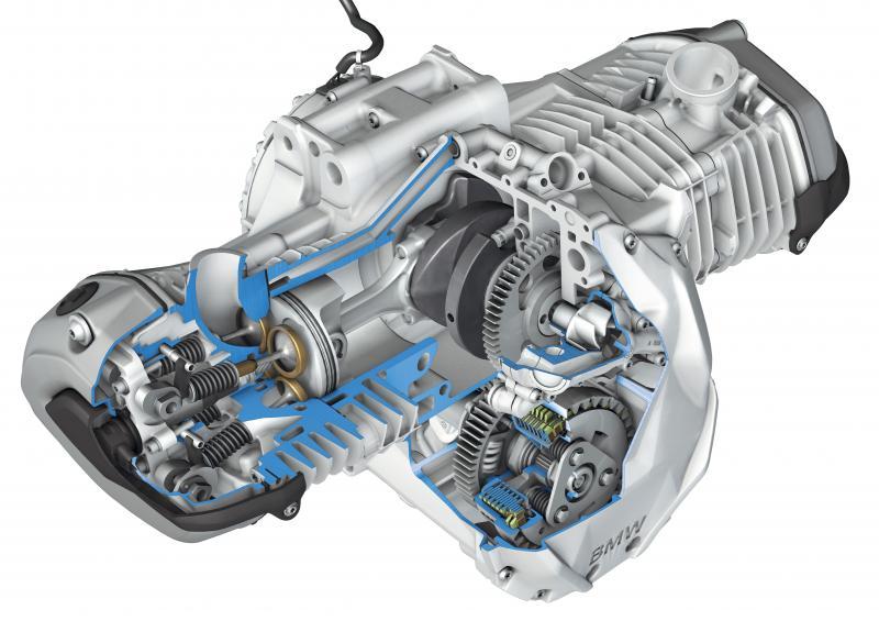 BMW水鸟摩托车发动机