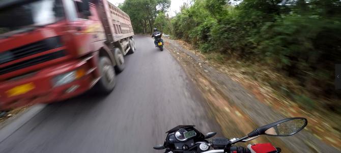 摩托车紧急刹车距离到底要多长?