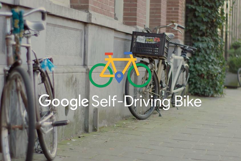 谷歌推出无人驾驶自行车