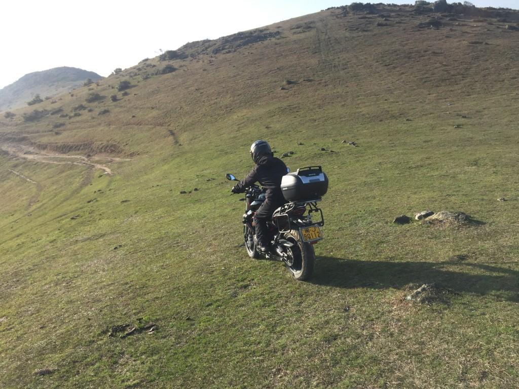 大姆山骑行