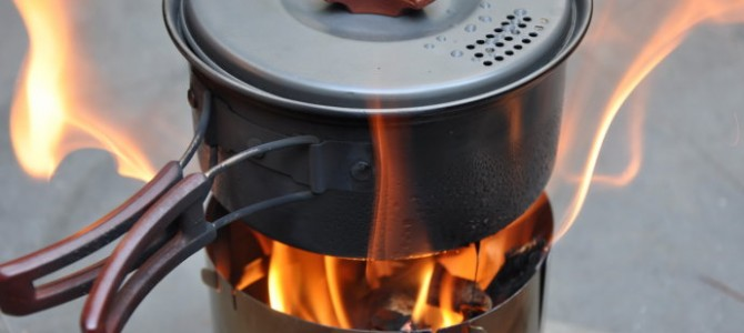 50元手工打造 烈焰户外柴火炉原理和制作过程