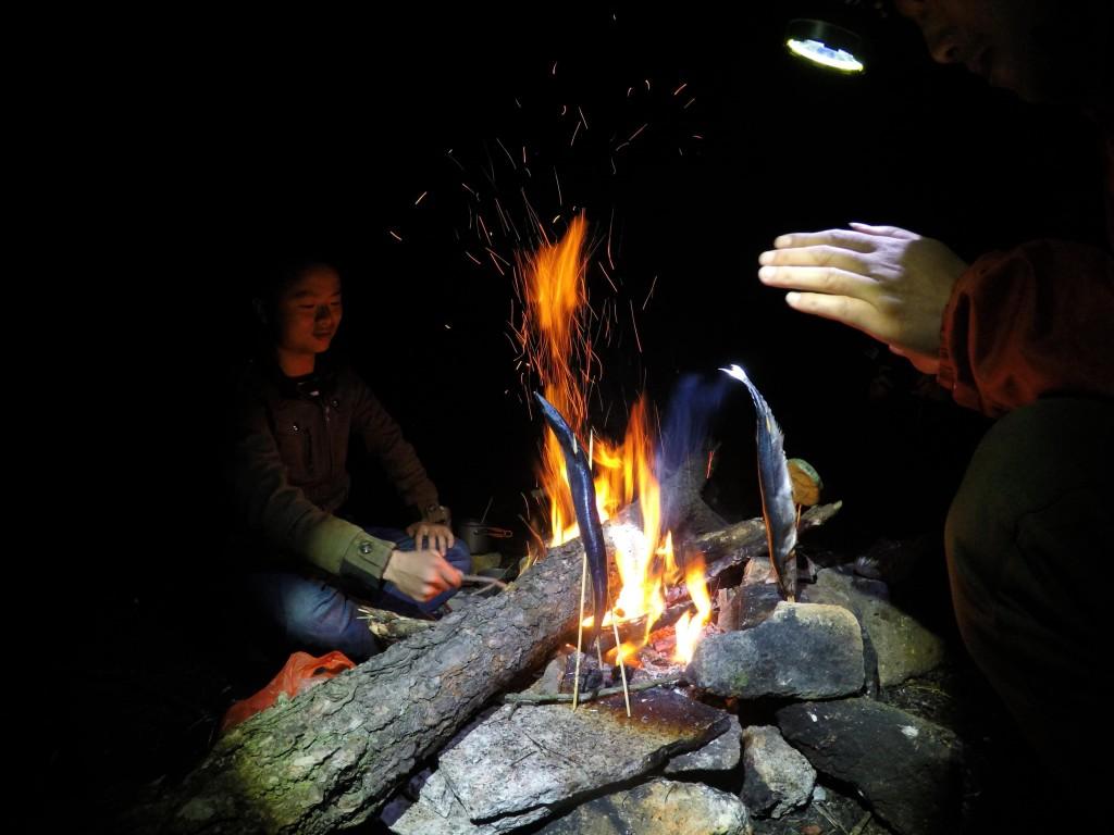 野外生存篝火