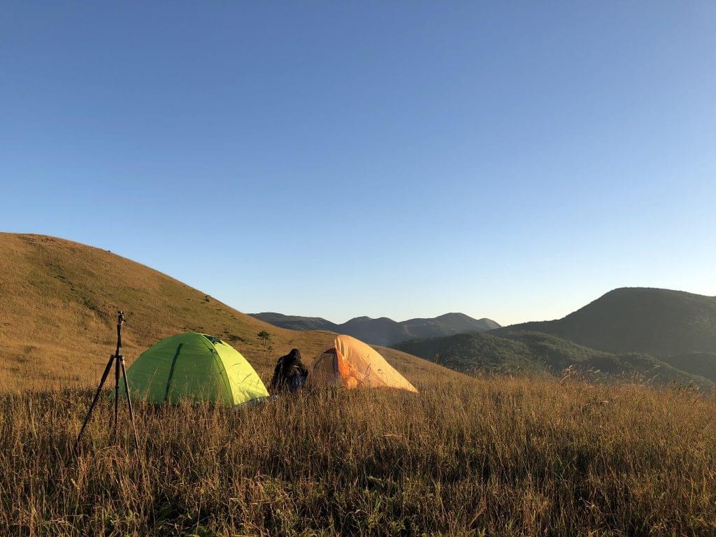 白溪草场露营
