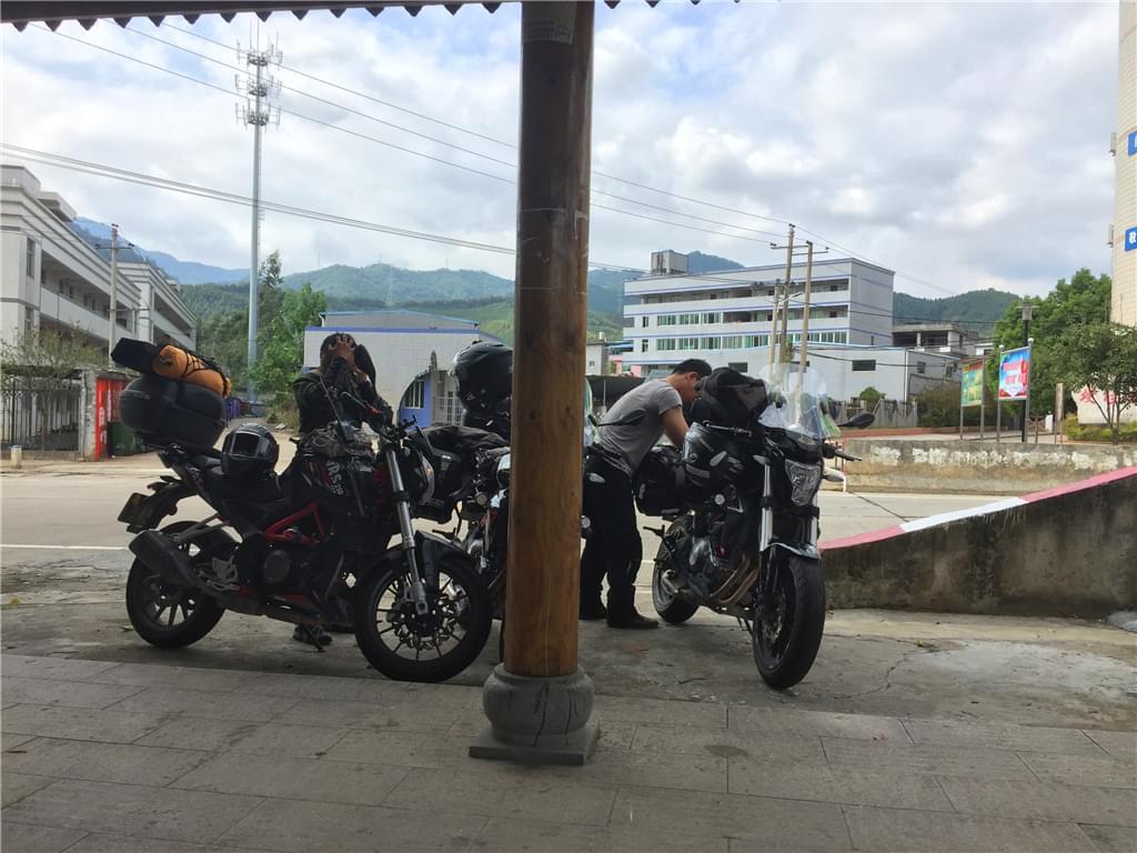 景德镇摩托车旅行
