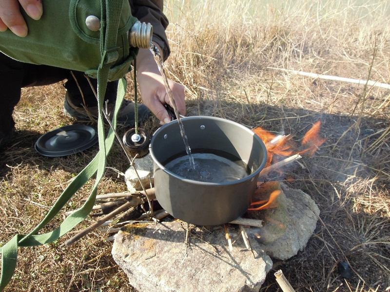 野外求生军用水壶